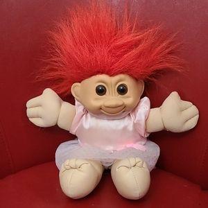 Vintage Russ Treasure Troll Doll
